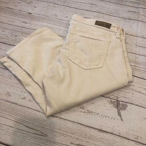 AG the Malibu bermuda shorts size 28 off white